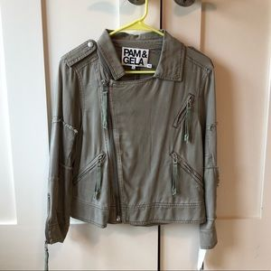 Pam Gela Army Green Jacket
